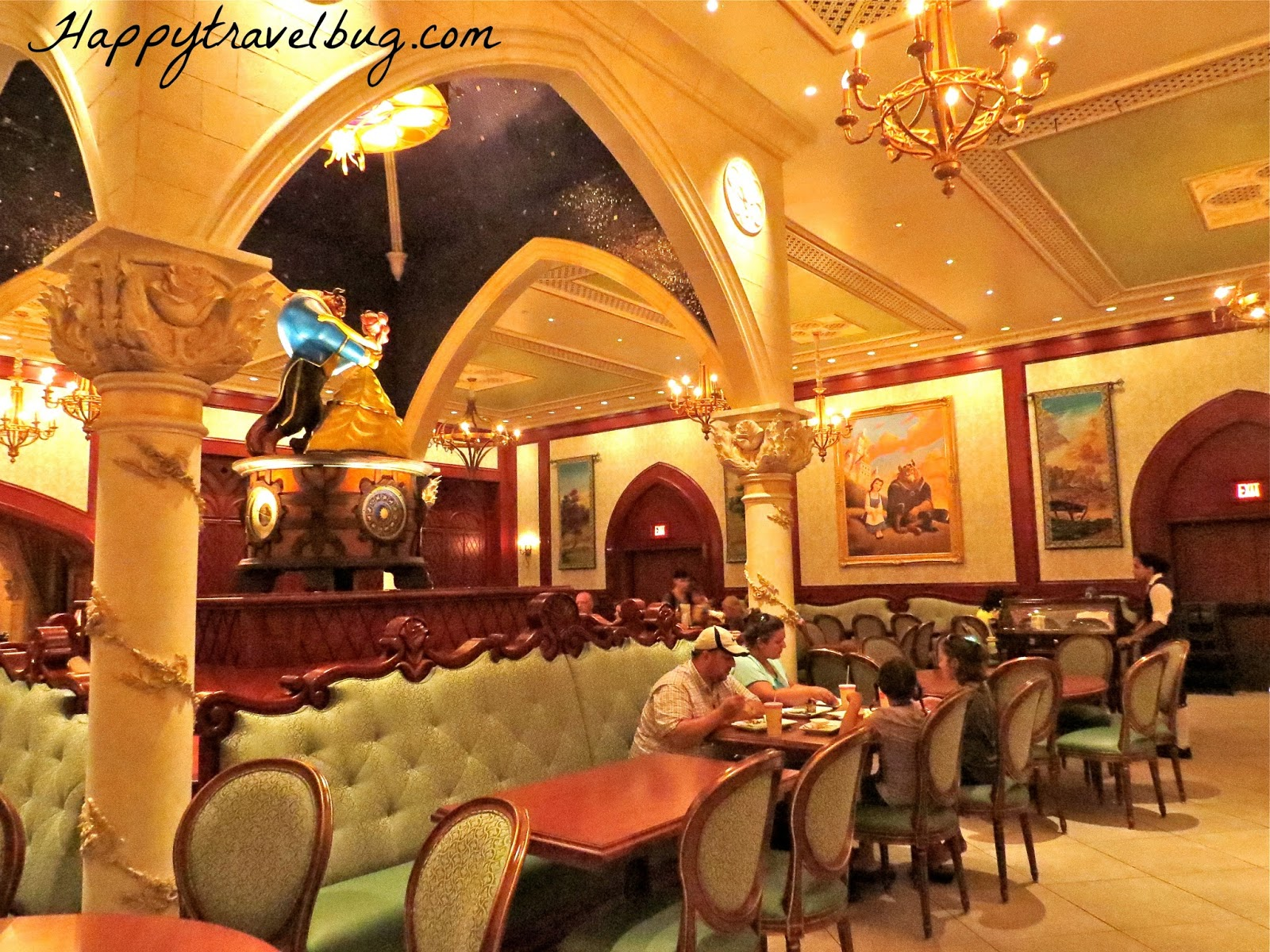 the {happy} travel bug: be our guest disney restaurant