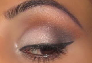mac, neautral, pin up, eyeshadow, blog, tutorial, swiss chocolate, vanilla, carbon, winged eyeliner 1