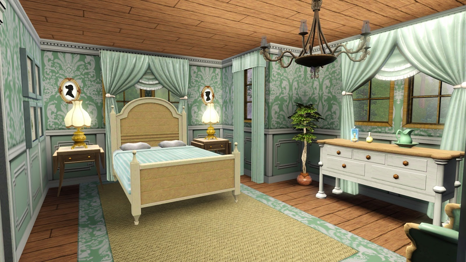Sims 3 Bedroom Simply Ruthless Downloads Sims 3 Lots
