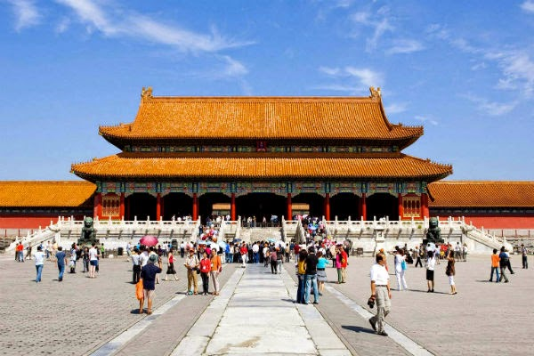 tour at Beijing