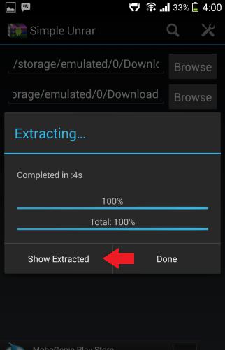 स्मार्टफोन में RAR फाइल ओपन करें