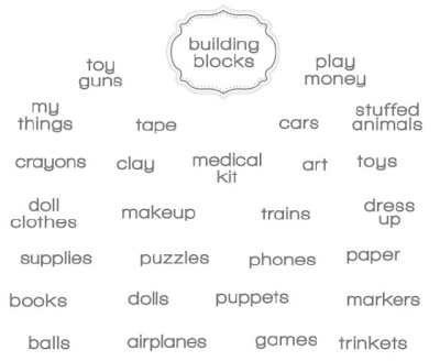 Label This Playroom Designer Template - Digital Download