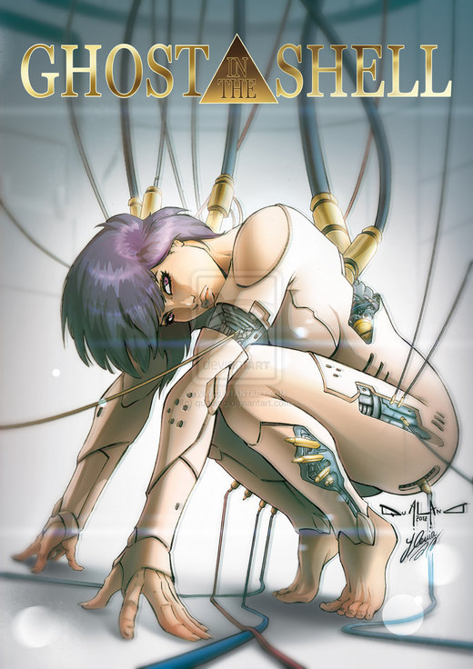 Ghost in the shell Tribute por qualano
