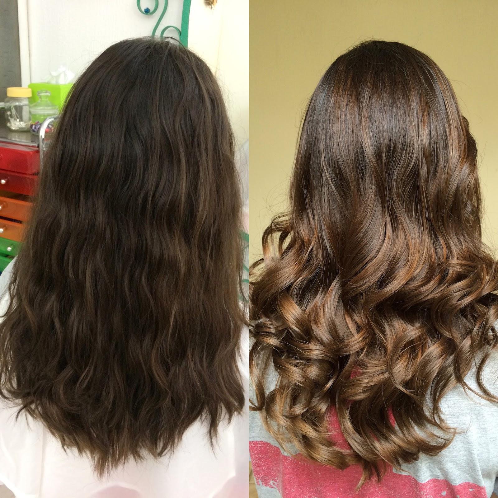 Antes y después!
