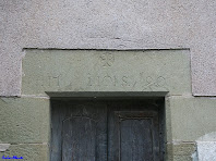 Llinda del mas El Gurri Gros amb la inscripció de 1790. Autor: Carlos Albacete