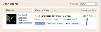 Cara mudah menghapus pengikut blog