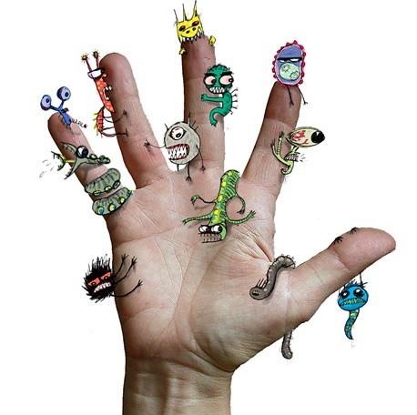 какие паразиты живут на коже человека