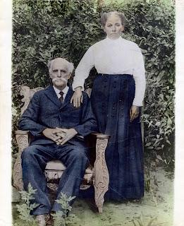 George Philip Roberts   Hattie Brazell