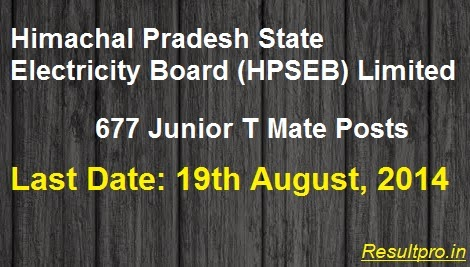 HPSEB Recruitment 2014