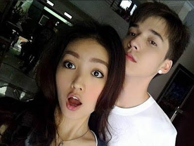 Foto Pasangan Steven William dan Natasha Wilona