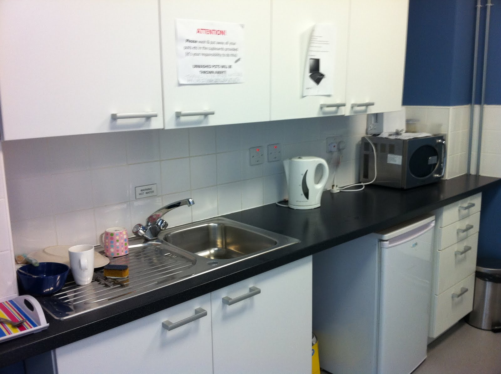 Experimentation and Feasibility: Roommate problems - Shared kitchen