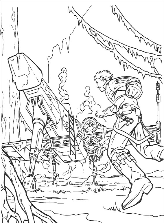 Coloring Pages For Star Wars : Kids under star wars coloring pages