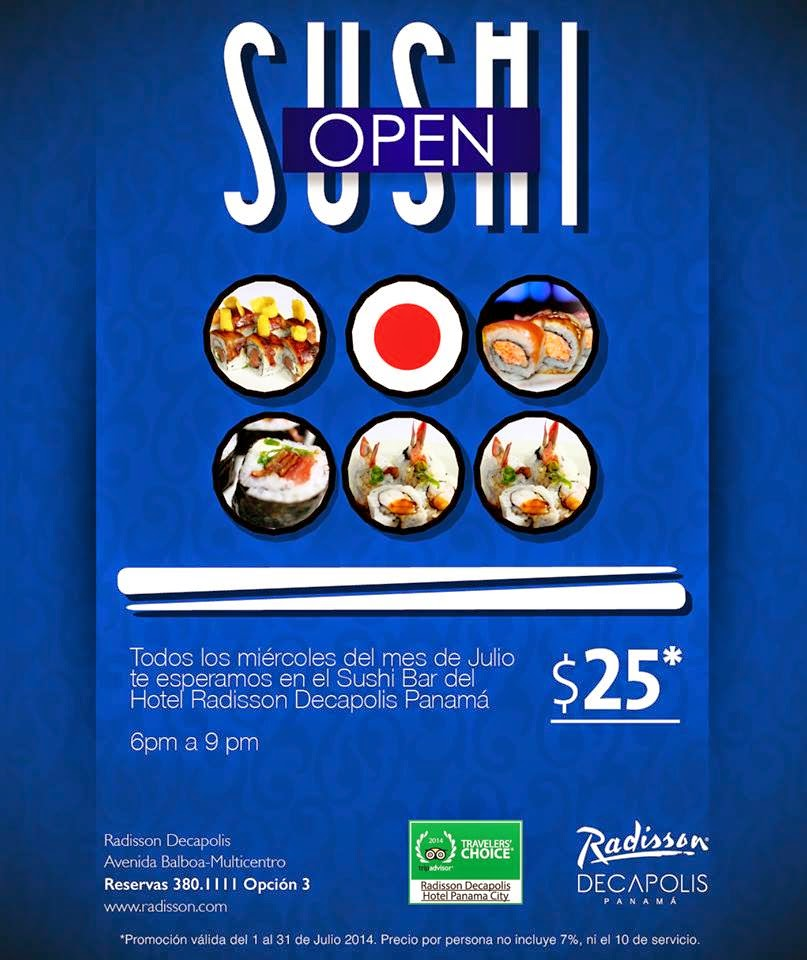 Sushi Bar Radisson Decapolis,
