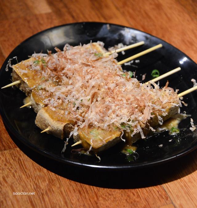 Crispy Tofu - RM6 per skewer