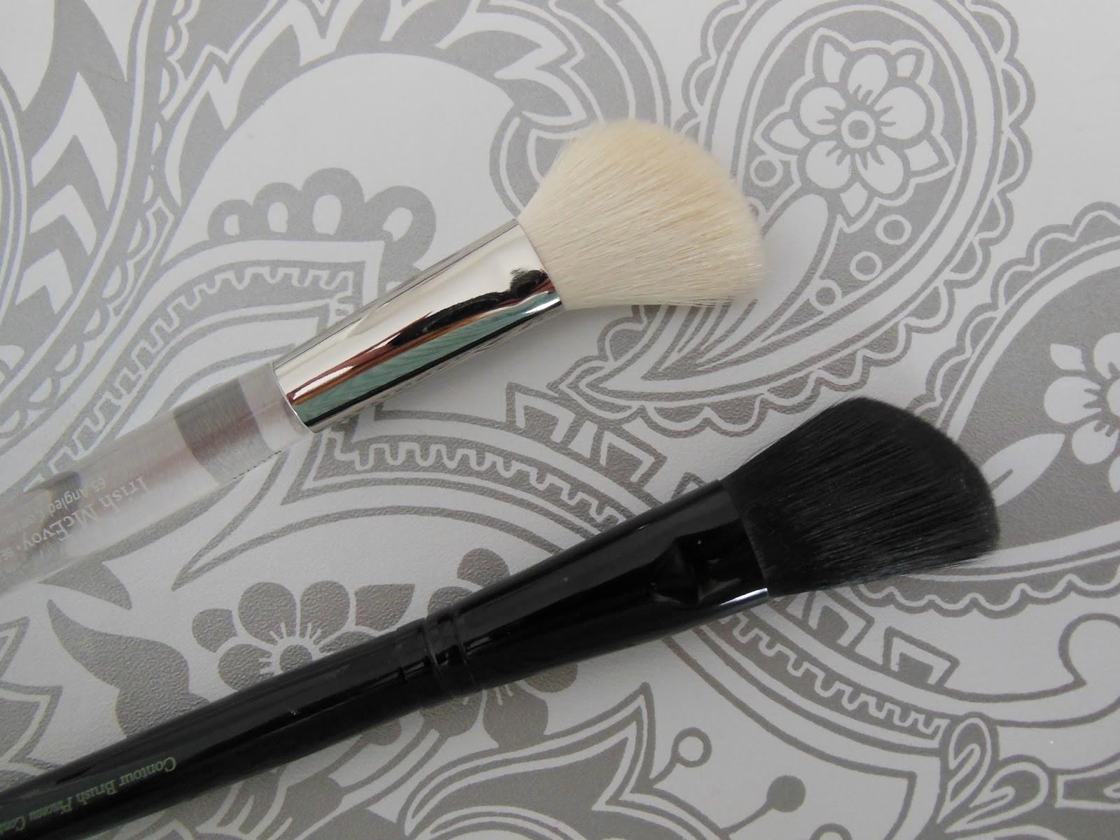 Trish McEvoy and Illamasqua contouring brushes