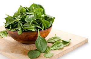 beauty skin with Spinach
