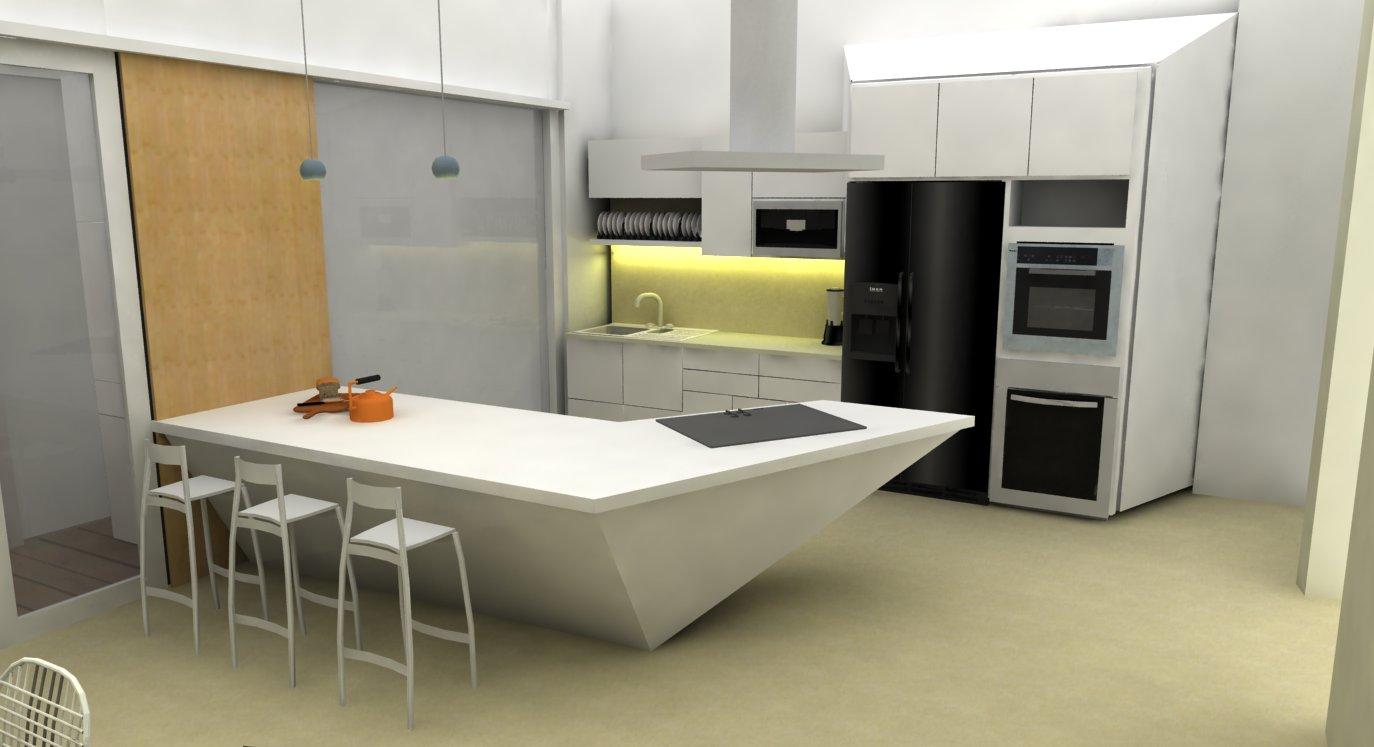 desain pantry dapur kering rumah modern freewaremini