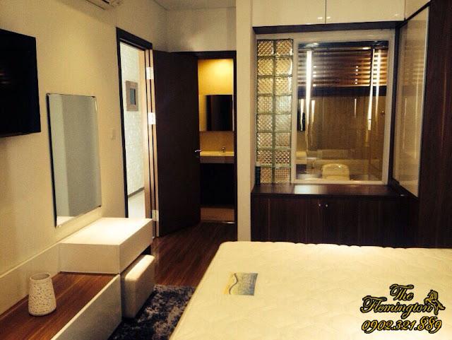 Cho thuê căn hộ Flemington giá rẻ diện tích 116m2 | Phòng ngủ