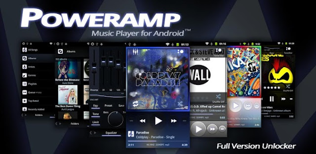 Poweramp Music Player For Android Full Version Unlocker