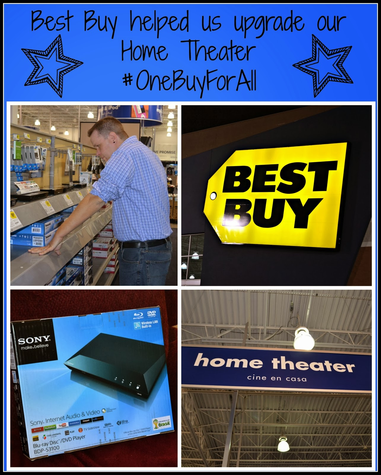 Home Theater Buying Tips: Best Electronics Found At Best Buy #OneBuyForAll