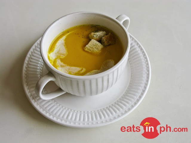 Butternut Squash Soup from SAB Bistro in Angeles City, Pampanga