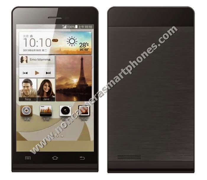 Dupad Story P6-E1 Dual Sim Android Non Camera Phablet Black Color Front Back Photos Images Review