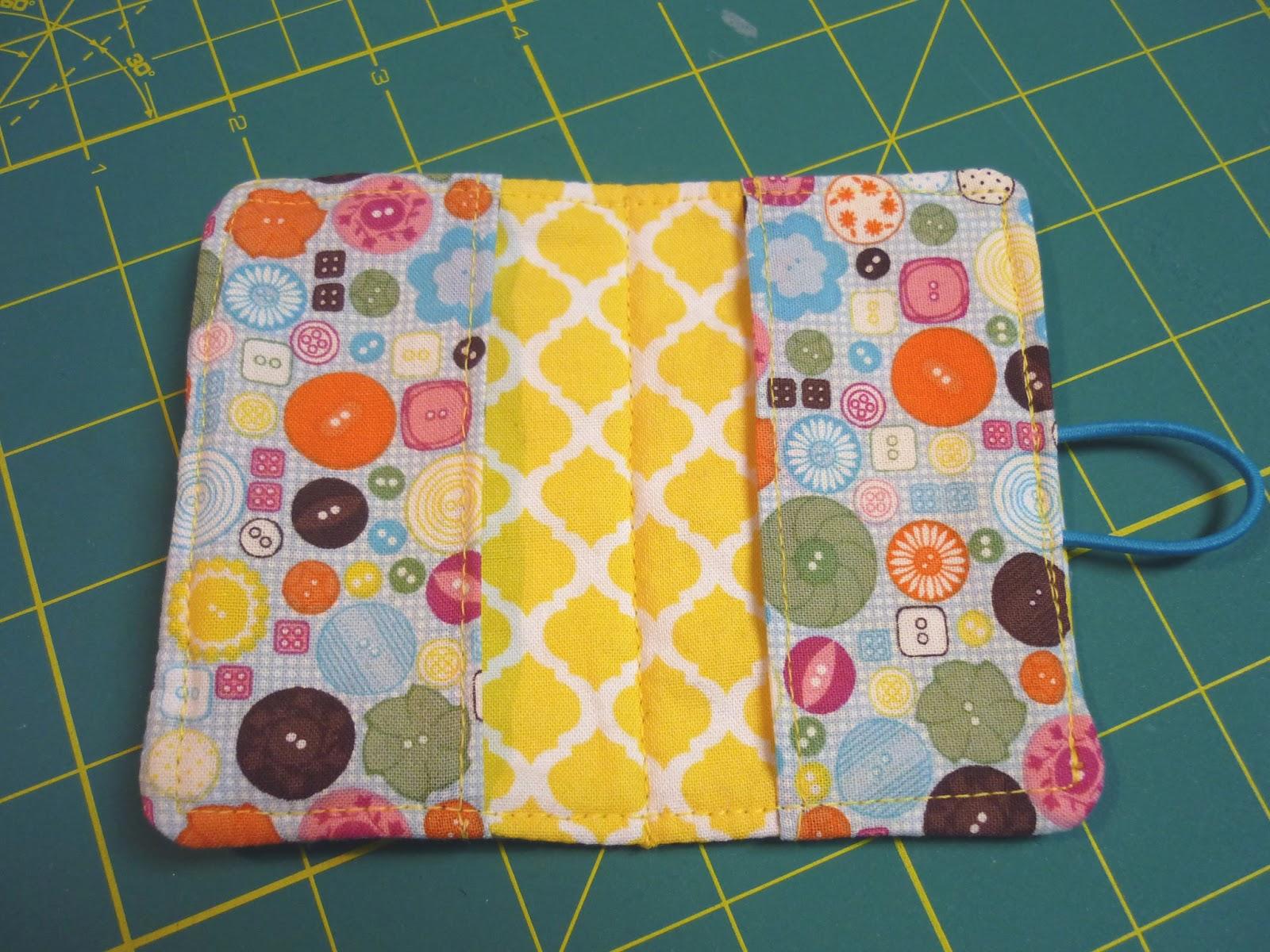 The Handy Dandy Helper: Designer Fabric Business Card Holders