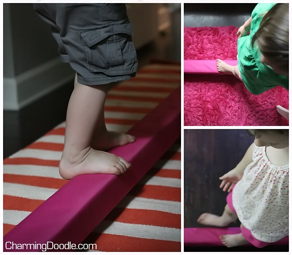 Charming Doodle Sew It Build It How To Make A Balance Beam