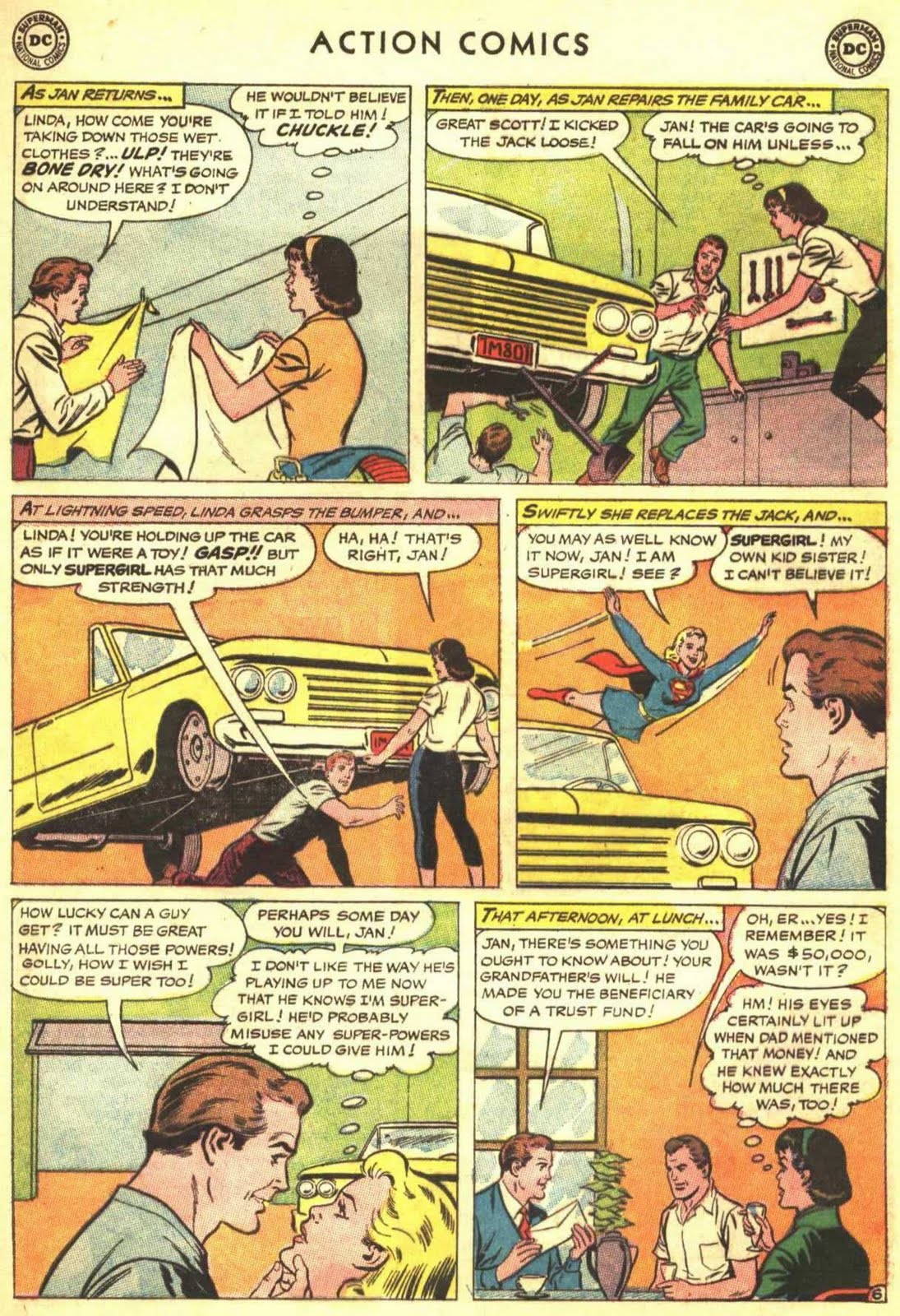 The guy made a comic sentence on April 1, and the girl cruelly avenged him