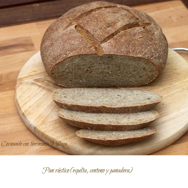 Pan rústico (espelta, centeno y panadera)