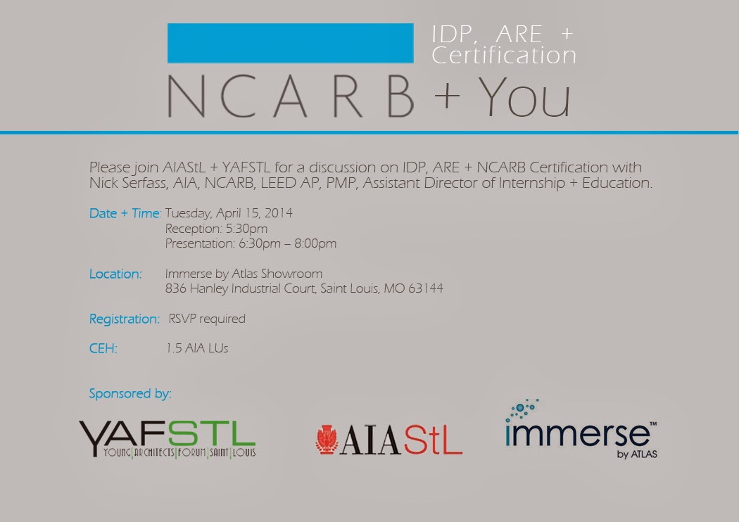 Yafstl Ncarb You Idp Are Certification 4152014