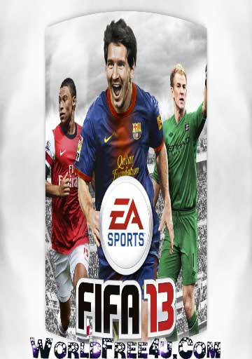 Cover Of FIFA 13 Full Latest Version PC Game Free Download Mediafire Links At worldfree4u.com