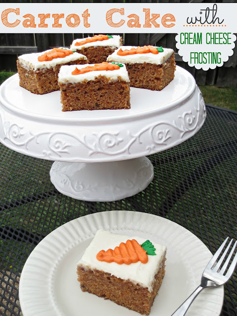 One Bowl Carrot Cake With Oil And Sour Cream