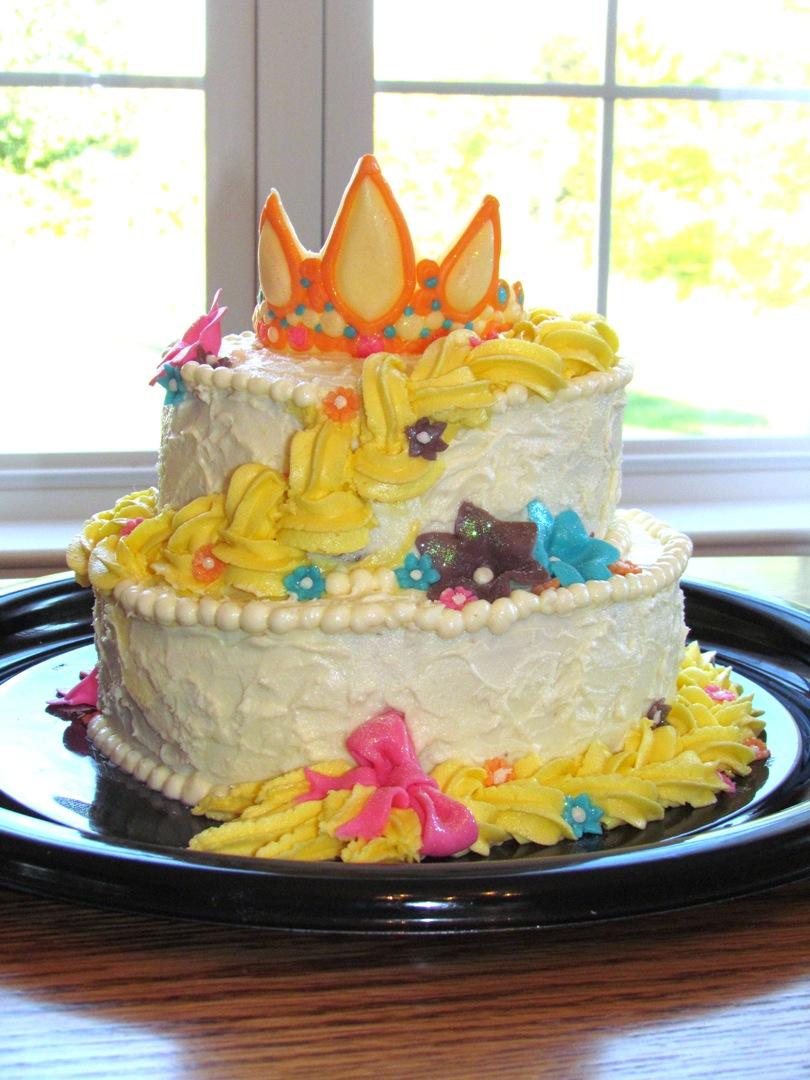 Party Crafting: Rapunzel Birthday Cake