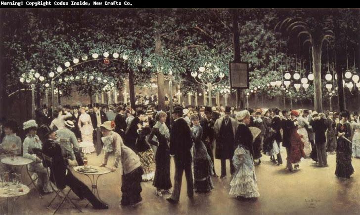 Escenas de cafés y teatros de París, vistas por Jean Beráud
