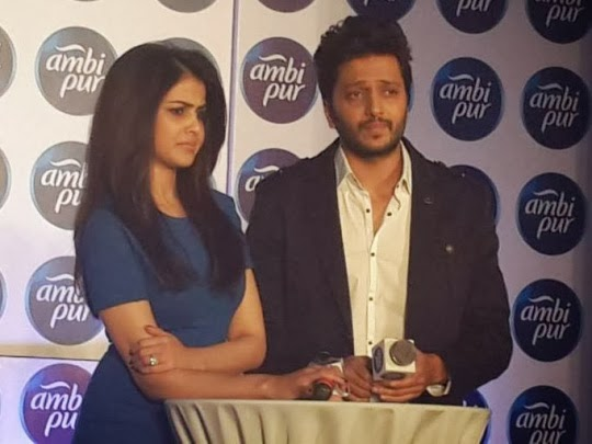 Riteish Deshmukh and Genelia D'souza photos