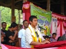 TMC Darjeeling candidate Bhaichung Bhutia