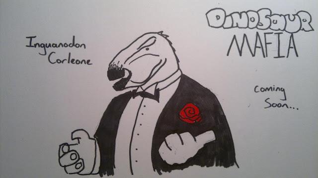 dinosaur mafia iguanadon don corleone