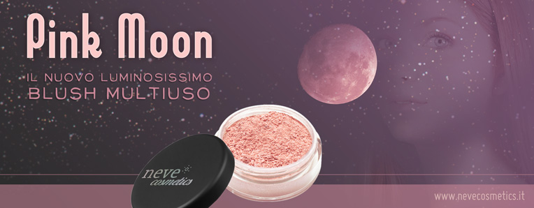 Neve Cosmetics - Pink Moon blush multiuso