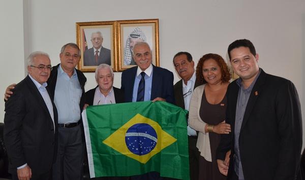 Delegação brasileira na Palestina