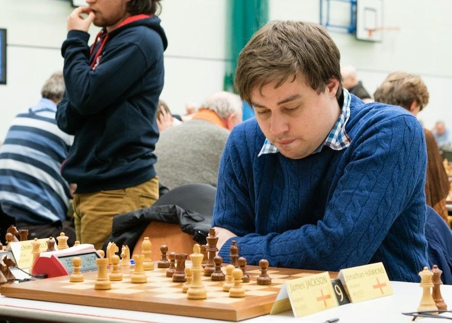 Le nouveau grand-maître britannique Jonathan Hawkins, 31 ans © Chess & Strategy