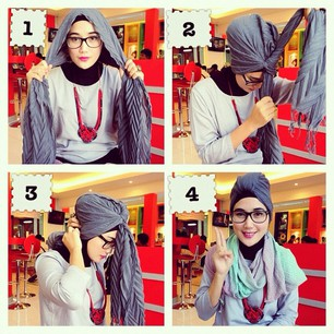 Tutorial Turban Simple