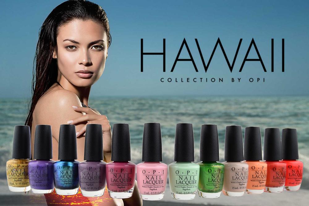 Hawaii Collection OPI vernis ongles nail polish