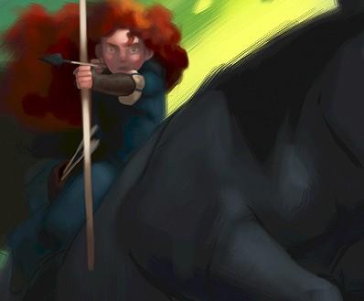 pixar brave concept art. Brave is in