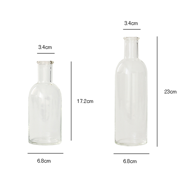 小泉硝子製作所 理化学用に使用されている ガラスのボトル