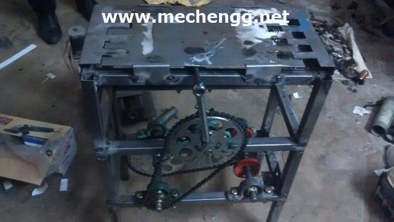 ROAD POWER GENERATION (RPG) BY SLIDING MECHANISM