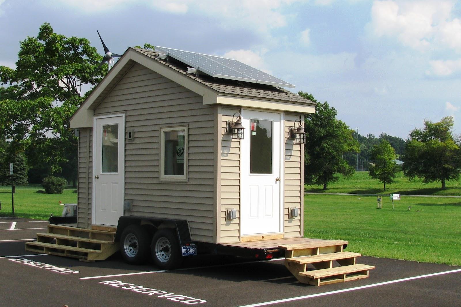 GPEnergy Tiny House to transport around Southeastern