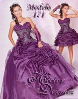 vestido de cumpleano 15