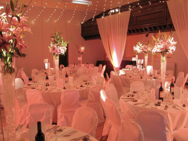 Off course With wedding lights ambiance brilliance and romance to your