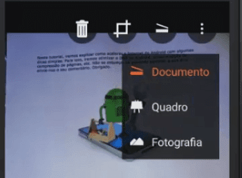 Como digitalizar documentos usando o Office Lens